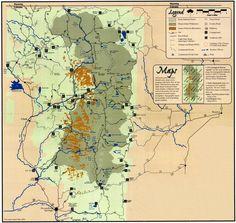 Trail Information Graphical, Mount Zirkel Wilderness Area, Colorado