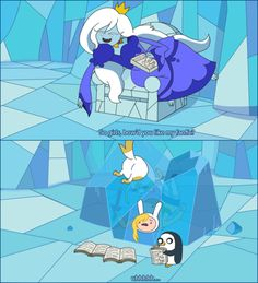 Ice Queen's Fanfict - adventure-time-with-finn-and-jake Photo