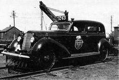 Track inspection car C.P.R.