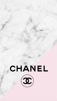Chanel logo pink marble iphone background - #background #chanel #iphone #Logo #marble