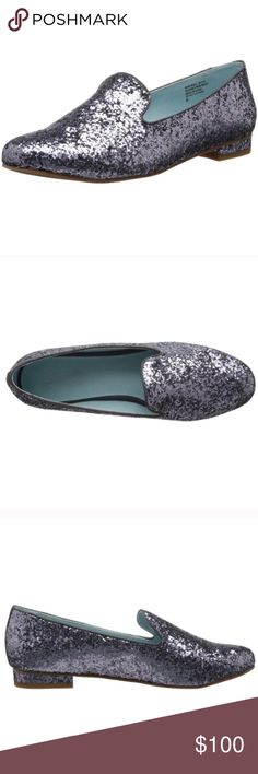 seychelles // silver glitter loafers NIB Seychelles for Anthropologie metallic grey/silver loafers. Slip-on, fits TTS. Rubber, non-slip sole. Add a little magic to your everyday ensemble with these beauties! Seychelles Shoes Flats & Loafers