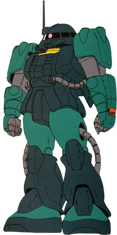 The RMS-192M Zaku Mariner (aka Zaku-Mariner) is a mass-production amphibious mobile suit, it is first featured in the anime series Mobile Suit Gundam ZZ, the design was later updated and featured in the novel/OVA series Mobile Suit Gundam Unicorn. The unit is piloted by Green and Fritz.