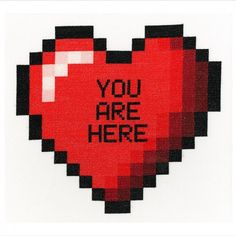 You-Are-Here-(Digital)   Skull Art  London Art Street Art  Tatto Art  Cross Stitch XXX STITCH  Urban Cross Stitch  Phil Davison  Egg Egg Art  Sew  Needle Point