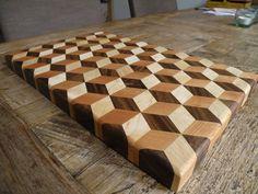 The amazing cutting board illusion