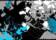 Shiota Nagisa (looks like vocaloid's love is war)