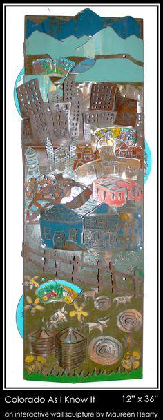 Colorado As I Know It Wall PIece made in Colorado