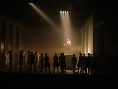 Julius Caesar at the Abbey Theatre Dublin 2007 - Directed by Jason Byrne Designed by Jon Bausor Lighting by Paul Keogan