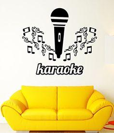 Wall Stickers Karaoke Singing Microphone Music Mural Art Vinyl Decal (ig2629) Wallstickers4you http://www.amazon.com/dp/B00TPLHZK8/ref=cm_sw_r_pi_dp_NWMVwb0AFTC99