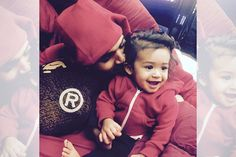 Chris Brown has remained silent about news that he fathered a child, but appears to be a proud daddy, sharing new photos. The singer took to Instagram on Thursday night (April 16), posting a pair of photos of his daughter Royalty for the first time. Breezy spent time with the 10-month-old before performing with Jamie …