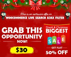 Exclusive Offer on #WooCommerce #Plugin. Grab this opportunity now! #WooCommerce #WordPress #eCommerce #Plugin #Filters #Filter #Products #Website #Webdevelopment #WebDeveloper #WebDesign #GraphicDesign