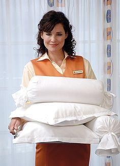 Kissenmenü und Bettdecken mit Überlänge in den Travel Charme Hotels