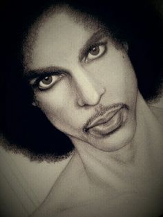 💋 Beautiful One Prince Drawing, The Artist Prince, Prince Purple Rain, Dearly Beloved, Prince Rogers Nelson, Afro Art, Purple Reign, African American Art, My Prince