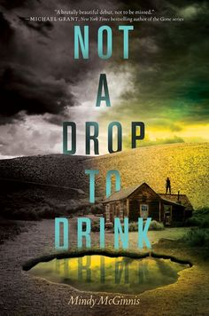 Not a Drop to Drink by Mindy McGinnis | Publisher: Katherine Tegen Books | Publication Date: September 9, 2013 | writerwriterpantsonfire.blogspot.com | #YA post-apocalyptic #dystopian