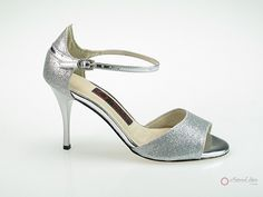 Natural Spin Designer Salsa Shoes/Tango Shoes/Fashion Shoes(Open Toe):  T1341-T3