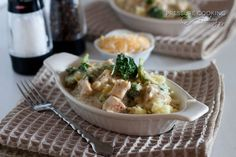 Creamy Chicken and Broccoli over Rice Recipe from Pressure Cooking Today