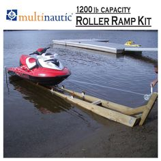 Ramp Kit for PWC or Small Watercraft 1200 lb