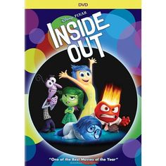 INSIDE OUT Dvd Video...Christmas gift from mimi.