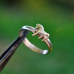 Horse Ring, Solid Silver, Sterling Silver 925, Delicate, Simple Gifts, Minimalist Jewelry, Horse Jewelry, All sizes by MySilverForest2015 on Etsy