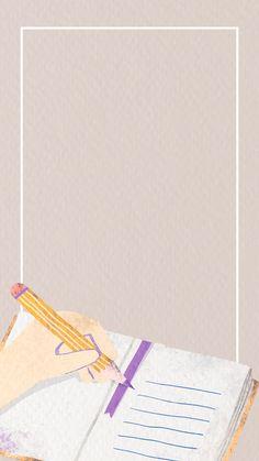 """Premium-Bild von """"Rectangle back to school frame"""" herunterladen - . Teacher Wallpaper, Math Wallpaper, Framed Wallpaper, Flower Background Wallpaper, Powerpoint Background Design, Poster Background Design, School Frame, Instagram Frame, Frame Template"""