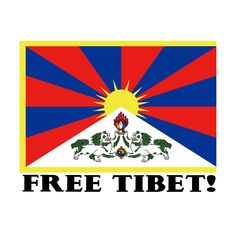 Free Tibet Bumper Sticker - x 4 ]-Express yourself with a sticker design that fits your sense of humor, political views, fandom, or promotes your Political Events, Political Views, Darwin Tree Of Life, Schools In America, Prayer Flags, World Peace, Custom Posters, Bumper Stickers, Sticker Design