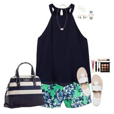 """""""Summa Time"""" by sc-prep-girl ❤ liked on Polyvore featuring J.Crew, MANGO, Kendra Scott, Jack Rogers, Kate Spade, Daniel Wellington, Too Faced Cosmetics, Marc Jacobs, MAC Cosmetics and Guerlain"""
