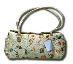 Donna Sharp Quilts Quilted Blush Suzette Connie Bag Purse 13693