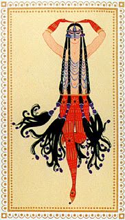 ∴ Ðrÿad ∴ - Harem by Romain de Tirtoff (source) Art Nouveau, Bugs, Erte Art, Romain De Tirtoff, Art Deco Artists, Estilo Art Deco, Art Deco Movement, 23 November, Art Deco Design