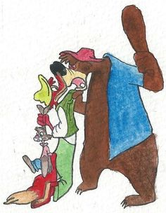 brer rabbit and brer bear story