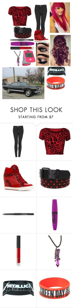 """OOTD-Ashley"" by luna-star11 ❤ liked on Polyvore featuring Topshop, WearAll, ALDO, Retrò, Stila, Rimmel and NARS Cosmetics"