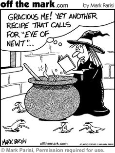 Looks like it's time to get more newts... or use different recipes