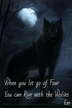 When you let go of fear...
