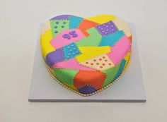 Birthday quilt cake! Sugarbird Sweets and Cakery