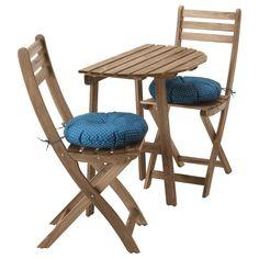 terrasenstuhl aus robinie massiv polster (3-teilig) jetzt, Garten und bauen