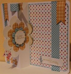 Kitsch Flower Twister card (3 images) by: kINGFISHER
