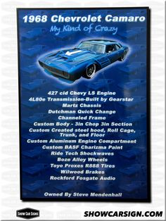 Best Car Show Signs Images On Pinterest Car Show Car Pictures - Car show display signs
