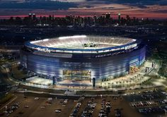 East Rutherford: Home to MetLife Stadium, The New York Giants, The New York Jets, and MWW headquarters! Football game between Notre Dame and Syracuse. New York Jets, New York Football, Jets Football, College Football, Football Moms, Football Stuff, Football Season, Super Bowl Tickets, Viajes