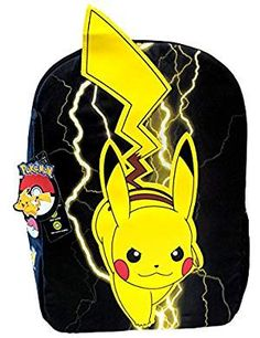 Looking for Pokemon Backpack Mojo Pikachu Lightning Black New 858923 ? Check out our picks for the Pokemon Backpack Mojo Pikachu Lightning Black New 858923 from the popular stores - all in one. Pokemon Backpack, Diaper Bag Backpack, Black Backpack, Hiking Bag, Hiking Backpack, Rolling Backpack, Dc Travel, Baby Girl Winter