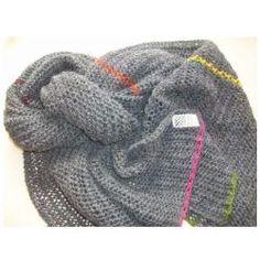 Luftigt tørklæde (Opskrift) - Birgitte Hansen