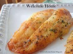 Welcome Home: Pan-fried Fresh Haddock