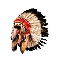 native american indian chief via MuralsYourWay.com