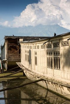 Butt's Clermont Houseboats: These ornate 19th-century houseboats moored on the shore of a Moghul garden in Kashmir, India, are heaven on earth.