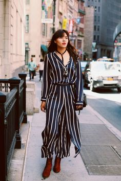 Ganni: One of Copenhagen's Coolest Fashion Brands Is Now on Net-A-Porter… Cool Street Fashion, Work Fashion, Spring Summer Fashion, Spring Outfits, Winter Fashion, Fashionista Street Style, Sweden Fashion, Onesie Pajamas, Style
