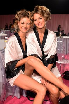 Pin for Later: See All the Victoria's Secret Fashion Show Sexiness!