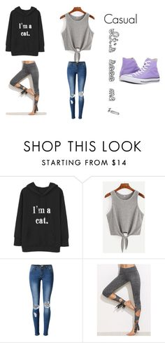 """It's So Me!"" by officialrt ❤ liked on Polyvore featuring Converse and soome"