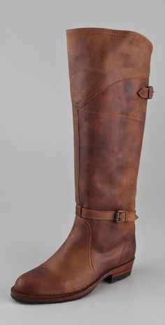 Love these! Frye Dorado Lug Sole Riding Boots
