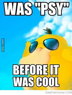 Hipster Psy-duck
