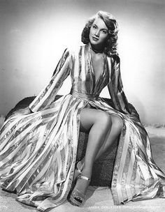Linda Christian - the original Bond Girl.  She played James's Bond's love interest in the 1954 TV adaptation of Casino Royale.