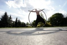 Cyr wheel / simple wheel. WHEELove from Poland. #cyrwheel #cyr #circus #circusart #wheelove #polish