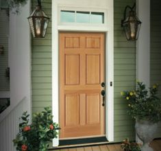 Home Door Design Images - Cleverkina Door Design Images, Home Door Design, Unique House Design, Shop Front Design, Unique Home Decor, Entry Doors With Glass, Wood Entry Doors, Wooden Front Doors, Garage Doors