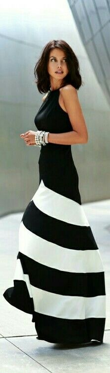 Chevrons and Pearls / VivaLuxury
